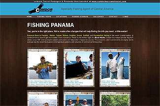 Custom website for Fishing Outfitter in Lawrenceville, GA
