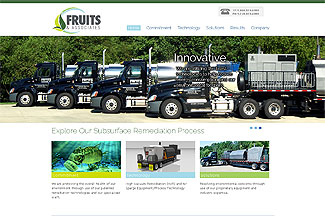 Website Design for Environmental Engineering Company in Acworth, GA